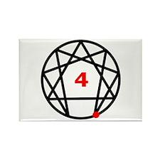 Enneagram Type 4 Rectangle Magnet (100 pack)