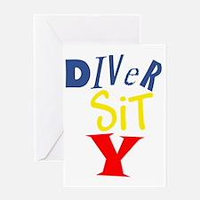 Diver Sit Y Greeting Card