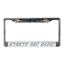 Cool Radio station License Plate Frame