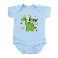 Dinosaur Princess Izzy Infant Bodysuit