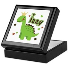 Dinosaur Princess Izzy Keepsake Box