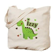 Dinosaur Princess Izzy Tote Bag