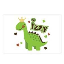 Dinosaur Princess Izzy Postcards (Package of 8)