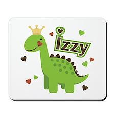 Dinosaur Princess Izzy Mousepad
