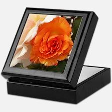 Orange Rose Keepsake Box