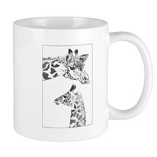 Giraffes Small Mug