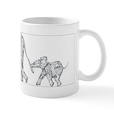 Elephants Small Mug