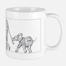 Elephants Small Small Mug
