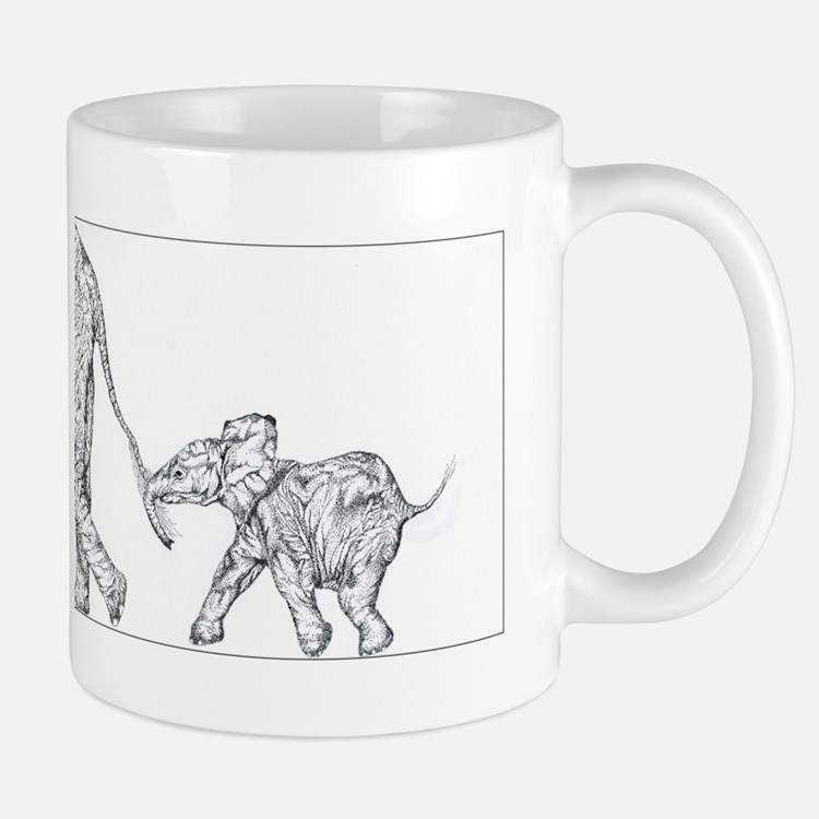 Elephants Small Small Mug
