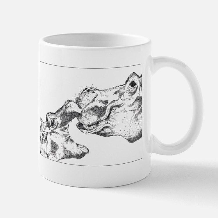 Hippos Small Small Mug