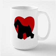 Miniature Schnauzer Valentine's Day Mug
