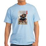Japanese Samurai Warrior Morimasa Light T-Shirt