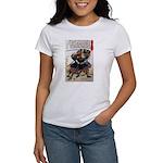 Japanese Samurai Warrior Morimasa Women's T-Shirt