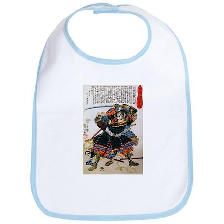 Japanese Samurai Warrior Morimasa Bib