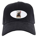 Japanese Samurai Warrior Morimasa Black Cap