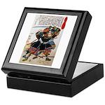 Japanese Samurai Warrior Morimasa Keepsake Box