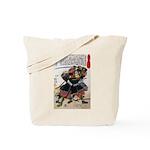 Japanese Samurai Warrior Morimasa Tote Bag