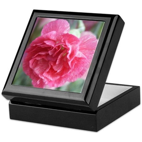 Pink Carnation Keepsake Box