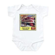 """The Iron Horse"" Infant Bodysuit"