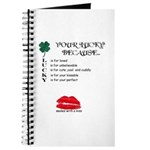 SEALED WITH A KISS Journal