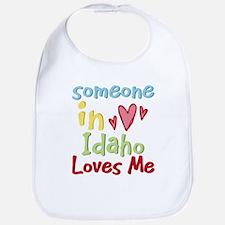 Someone in Idaho Loves Me Bib