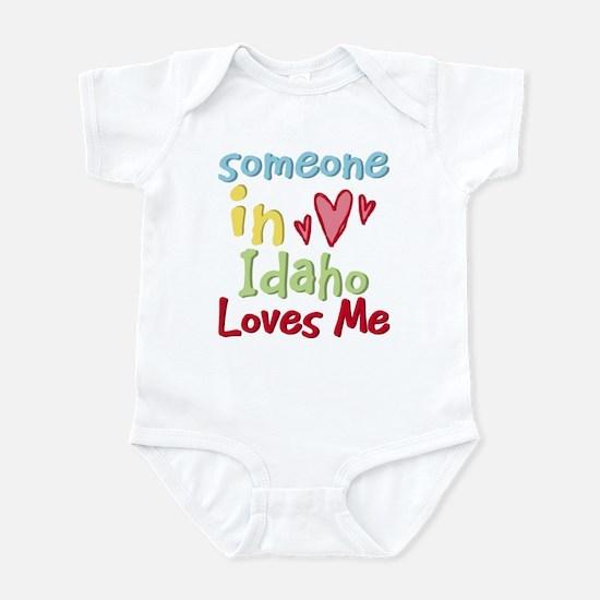 Someone in Idaho Loves Me Infant Bodysuit