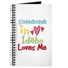 Someone in Idaho Loves Me Journal