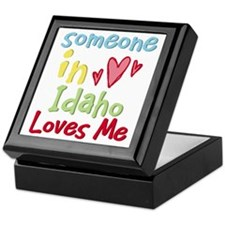 Someone in Idaho Loves Me Keepsake Box