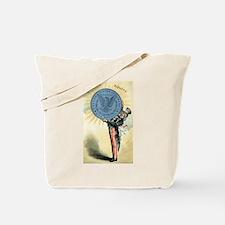 Unique Retro coin Tote Bag