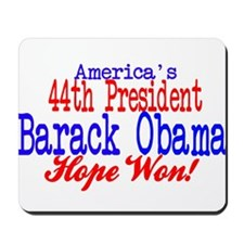 44th President Obama Mousepad