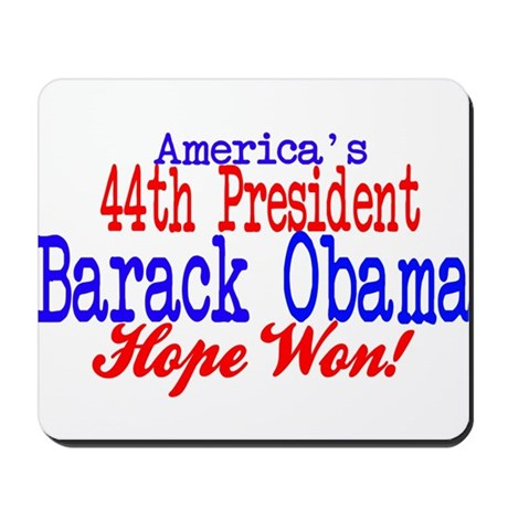 44th President Obama Mousepad