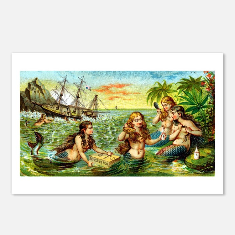 Cute Myths Postcards (Package of 8)