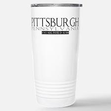 Pittsburgh Pennsylvania Stainless Steel Travel Mug