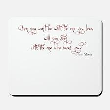 New Moon Tag Mousepad
