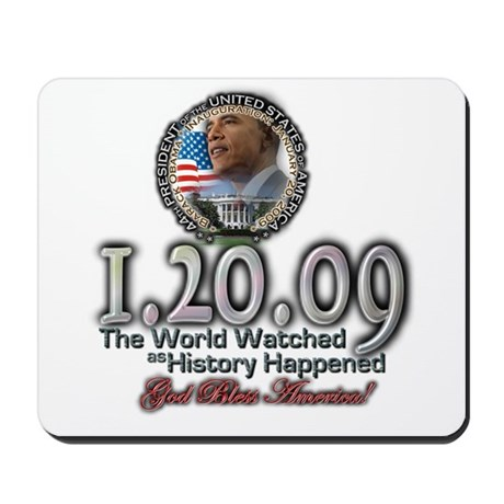 The World Watched... Mousepad