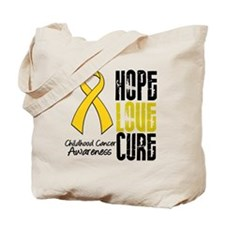 ChildhoodCancerHope Tote Bag