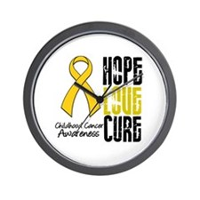 ChildhoodCancerHope Wall Clock