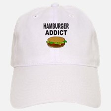 HAMBURGER ADDICT Baseball Baseball Cap