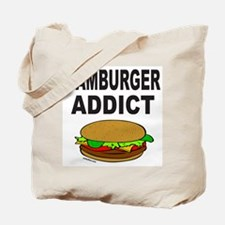 HAMBURGER ADDICT Tote Bag