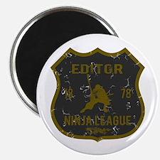 Editor Ninja League Magnet