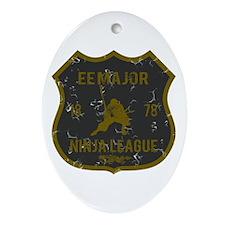 EE Major Ninja League Oval Ornament