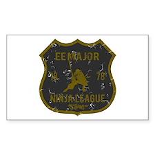 EE Major Ninja League Rectangle Decal
