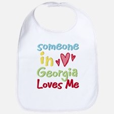 Someone in Georgia Loves Me Bib