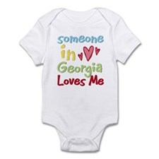 Someone in Georgia Loves Me Infant Bodysuit