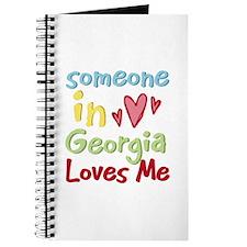Someone in Georgia Loves Me Journal