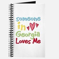 Someone in Georgia Loves Me Journal