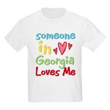 Someone in Georgia Loves Me T-Shirt