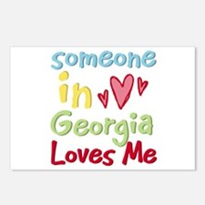 Someone in Georgia Loves Me Postcards (Package of