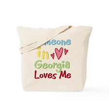 Someone in Georgia Loves Me Tote Bag