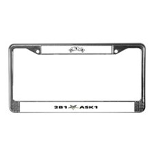 Cute Order of the eastern star License Plate Frame